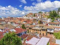 Albaicín District in Granada