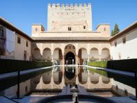The Alhambra's Arrayanes Patio