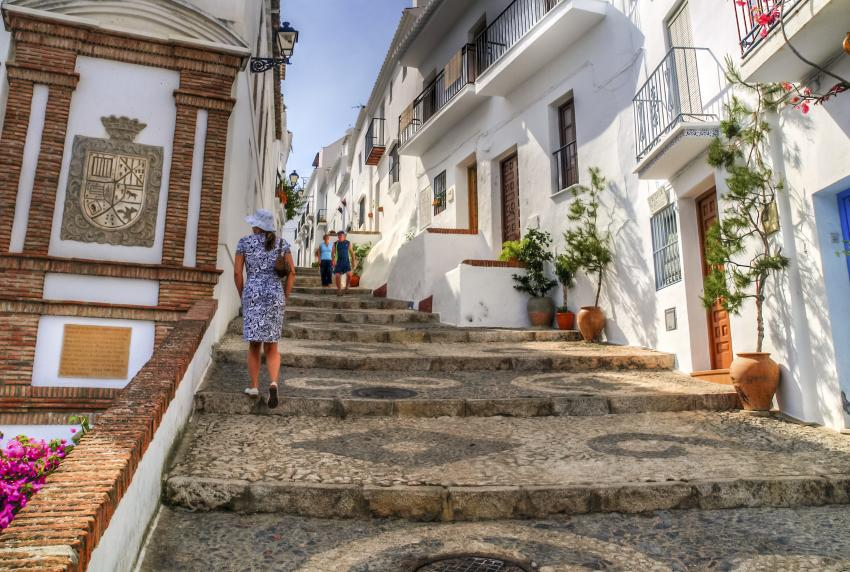 Frigiliana's winding streets will enchant you